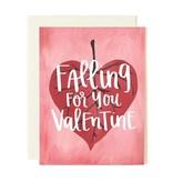 1Canoe2 Leaf Valentine Card