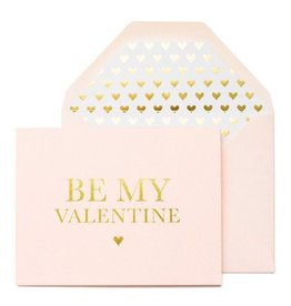 Sugar Paper Be My Valentine Card