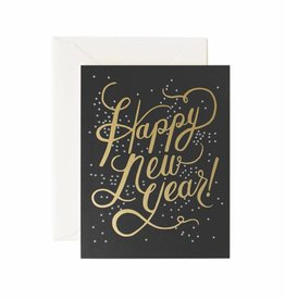 Rifle Paper Shimmering New Year Card