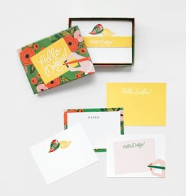 Rifle Paper Hello Darling Social Stationery Set