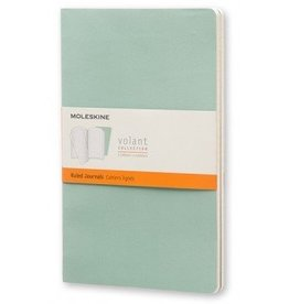 Moleskine Volant Sea Green Journal Set