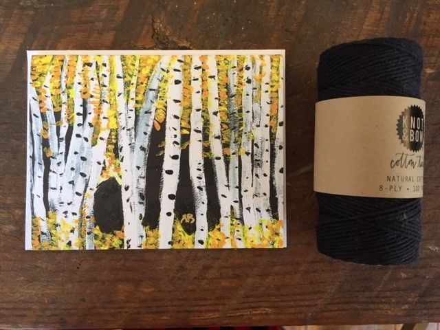 Abigail Brown Birch Trees 3