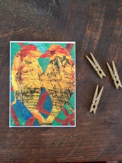 Abigail Brown Love Birds 4