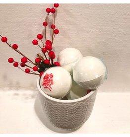 Blissful Bathing Company Peppermint Bath Bombs
