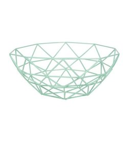 Now Designs Gem Basket, Mint