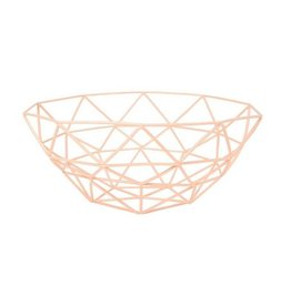 Now Designs Gem Basket, Peach