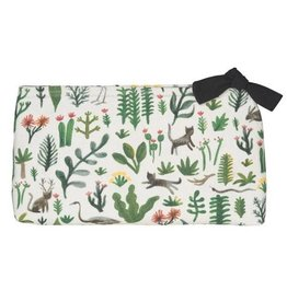 Now Designs Secret Garden Cosmetic Bag, Large