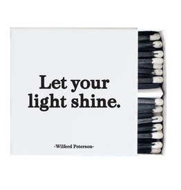 Quotable Let Your Light Shine Matches