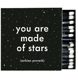 Quotable You Are Made of Stars Matches