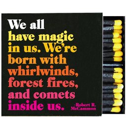 Quotable We All Have Magic Matches