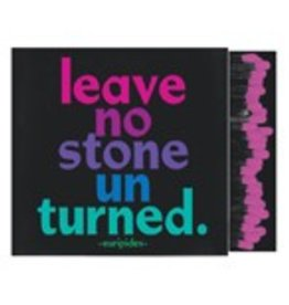 Quotable Leave No Stone Unturned Matchbox