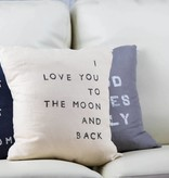 Casa & Co. To The Moon Pillow, Sand