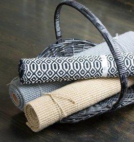 Now Designs Bazaar Floormat, Black