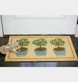 Now Designs Potted Plants Doormat