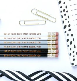 Taylor Elliott Be So Good Pencils, Set/6