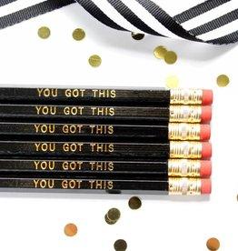 Taylor Elliott Tay: You Got This Pencils