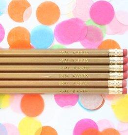 Taylor Elliott Goal Digger Pencils, Set/6