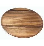 BE Home Acacia Round Plate