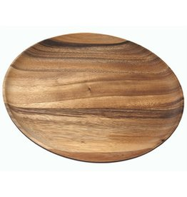 BE Home Acacia Round Plate