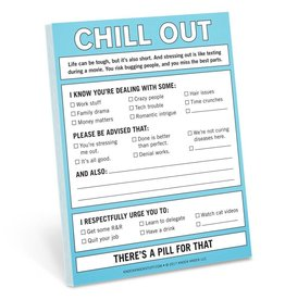 Knock Knock Nifty Notes: Chill Out