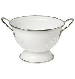 Now Designs Colander, White