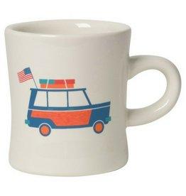 Now Designs American Road Trip Diner Mug