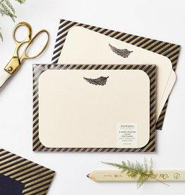 Katie Leamon Luxe Feather Notecards