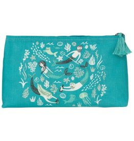 Now Designs Sea Spell Linen Bag, Large