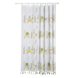 Now Designs Llamarama Shower Curtain
