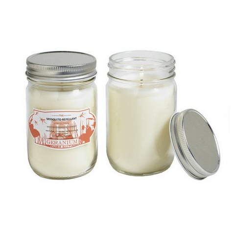 Hill House Natural Geranium Mosquito Repellent Candle