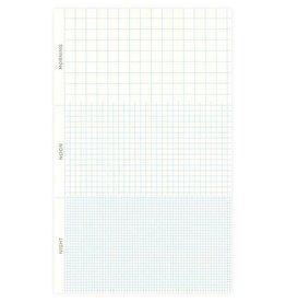 Snow & Graham 24 Hour Grid Pad