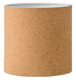 Bloomingville Ceramic & Cork Flower Pot