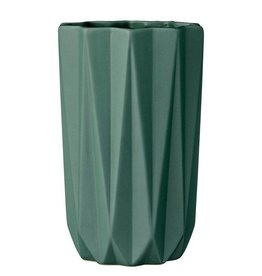 Bloomingville Dark Green Vase