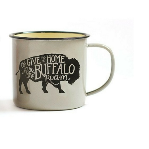 1Canoe2 Gray Buffalo Mug