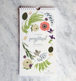 Favorite Story Botanical Birthday Calendar