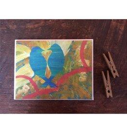 Abigail Brown Love Birds 1