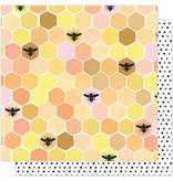 American Crafts Sweet As Honey Paper