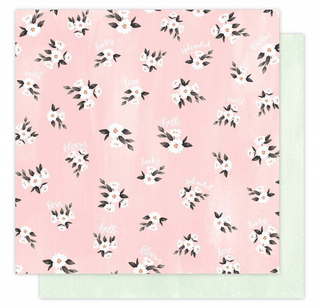 American Crafts Lazy Daisy Paper