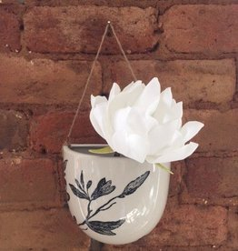 Creative Co-op Floral Wall Vase Fig. 2