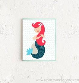 Nicole Marie Paperie Mermaid