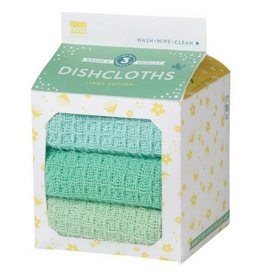 Now Designs Spring Meadow Dish Cloths, Set/3