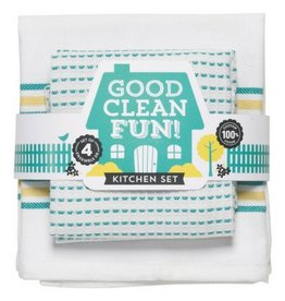 Now Designs Good Clean Fun, Teal