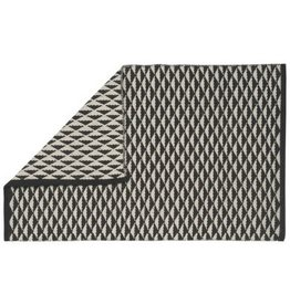 Now Designs Geo Angle Black Rug, 2x3
