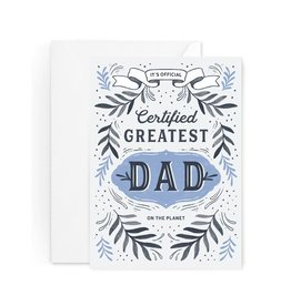 Paper Raven Co. Greatest Dad Award