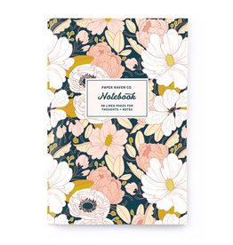 Paper Raven Co. Dark Floral Notebook