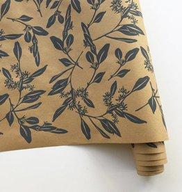 Bonnie Kaye Studio Eucalyptus Gift Wrap, Kraft & Gray