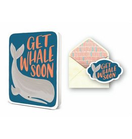 Studio Oh! Get Whale Soon Greeting Card Set