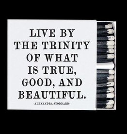 Quotable Live By The Trinity Matches