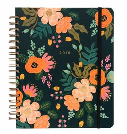 Rifle Paper 2018 Lively Floral Spiral Planner