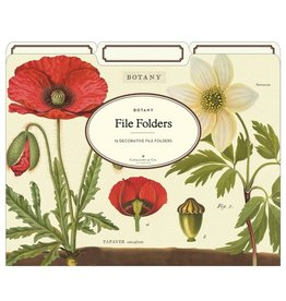 Cavallini Papers Botany File Folders
